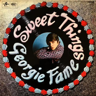 Georgie Fame And The Blue  ‎- Sweet Things (LP) (G+/G+)